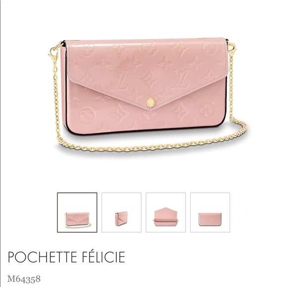 81dc99fd6654 Louis Vuitton pink clutch